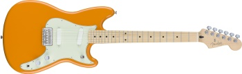 FENDER Duo-Sonic, Maple Fingerboard, Capri Orange