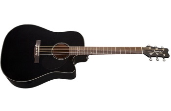 Jasmine JD39  Acoustic Electric Cutaway Black w/case