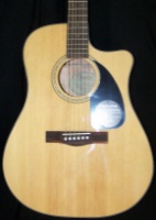 FENDER CD-60SCE, Solid Top, Natural,