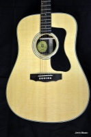 Guild D-50 Standard, Rosewood Dreadnought, Natural, w/ Deluxe Case