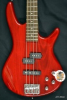 IBANEZ GSR Series Basses Guitar Transparent Red Transparent Red