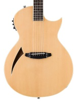 ESP LTD TL6 Thinline Acoustic-Electric Guitar Natural