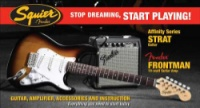 Squier Stop Dreaming, Start Playing!  Set: Affinity Series  Strat with Fender Frontman® 10G Am