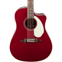 FENDER Sonoran  SCE, Candy Apple Red with Matching Headstock