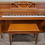 Used Story & Clark 33 Walnut Piano