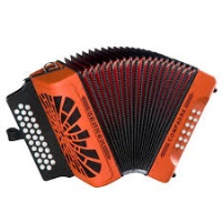 Hohner Compadre Red Buttonbox