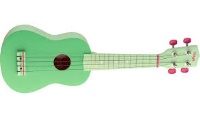 UNKNOWN SOPRANO UKULELE GRASS+BAG