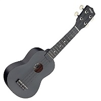 Stagg Soprano Ukulele Black+Bag