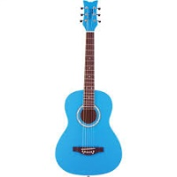 DAISY ROCK Junior Miss Cotton Candy Blue Guitar