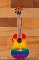 AMAHI Rainbow Flamed Maple Concert Ukulele