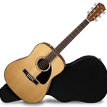 Fender CD-60 Dreadnought V3 w/Hardshell Case, Walnut Fingerboard, Natural