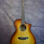 Breedlove Oregon concerto whiskey burst CE Sitka Myrtlewood