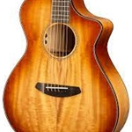 Breedlove Oregon Concerto Cinnamon Burst CE Myrtlewood