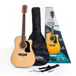 WASHBURN WD10 Acoustic/Electric Pack