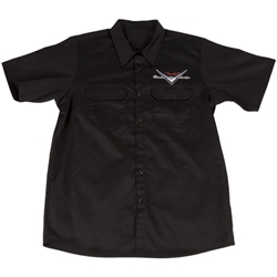 Fender® Custom Shop Workshirt, Black, L